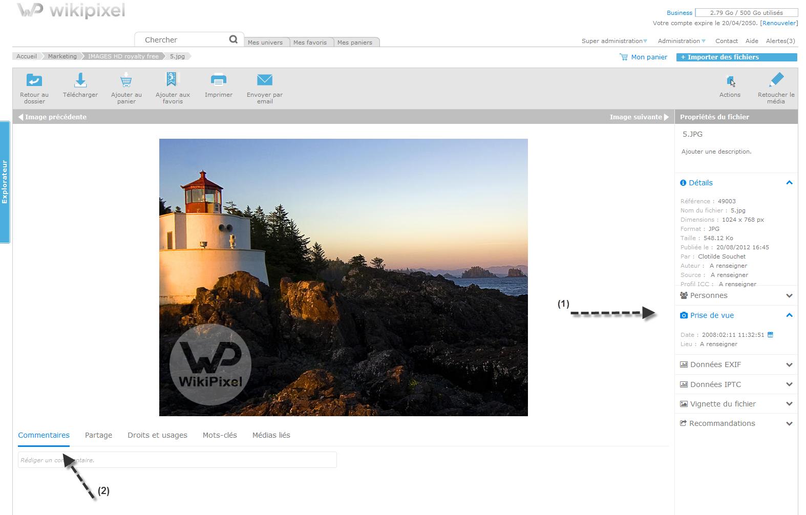 Capture nouvelle ergonomique Wikipixel